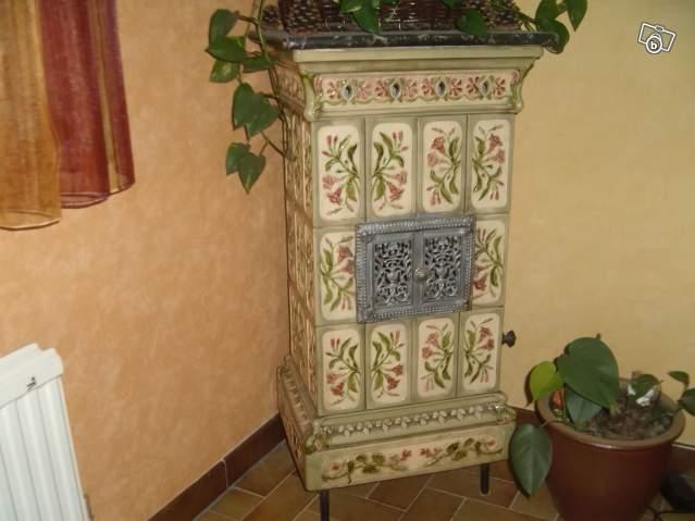 Magnifique poêle alsacien = Faïencerie de Toul Offre Saône  ~ Poele A Bois Ceramique Alsacien