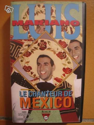 Vhs le chanteur de mexico luis mariano offre pyr n es atlantiques 64000 pau 1 for Devis electromenager pau