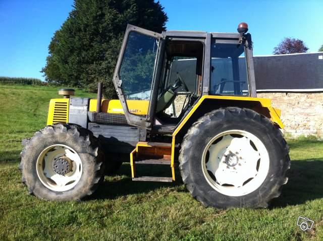 tracteur renault 113 14  4 roues motrice de 1982 offre c u00f4tes