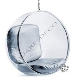 fauteuil boule suspendu ball chair transparent offre val de marne 94310 orly 990. Black Bedroom Furniture Sets. Home Design Ideas