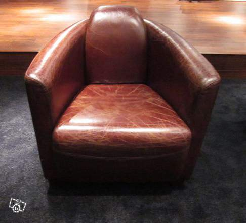 fauteuil club aviator cuir pleine fleur marron offre val de marne 94310 orly 890. Black Bedroom Furniture Sets. Home Design Ideas
