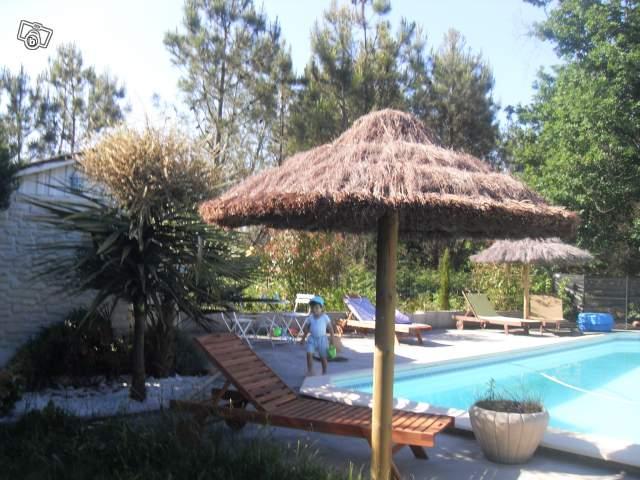 Parasol exotique offre gironde 33380 biganos 380 for Como hacer una sombrilla para jardin