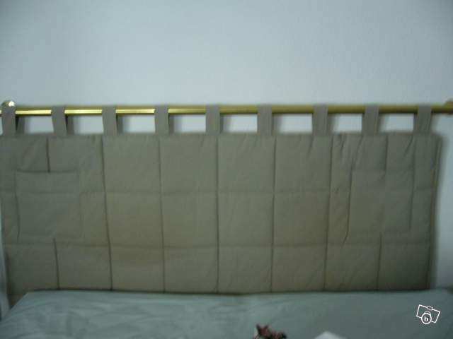 Tete de lit matelasse 140x90 offre bas rhin 67000 strasbourg 12 - Tete de lit matelassee a passants ...