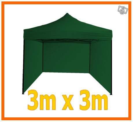 tonnelle pliable 3x3m verte type parapluie bricolage aube. Black Bedroom Furniture Sets. Home Design Ideas