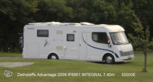camping car integral 7 40 dethleffs 3 0l 160cv offre
