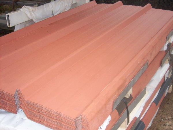 tole bac acier brun cuivre pour toiture ou bardage offre. Black Bedroom Furniture Sets. Home Design Ideas