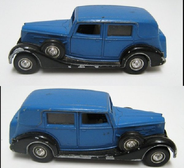 voiture solido type packard 1937 echelle 1 43 car no dinky toys traction auto vehicule miniature. Black Bedroom Furniture Sets. Home Design Ideas
