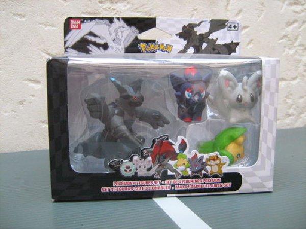 Figurines pokemon nintendo noir et blanc zoroark zorua - Jeux pokemon noir et blanc ...